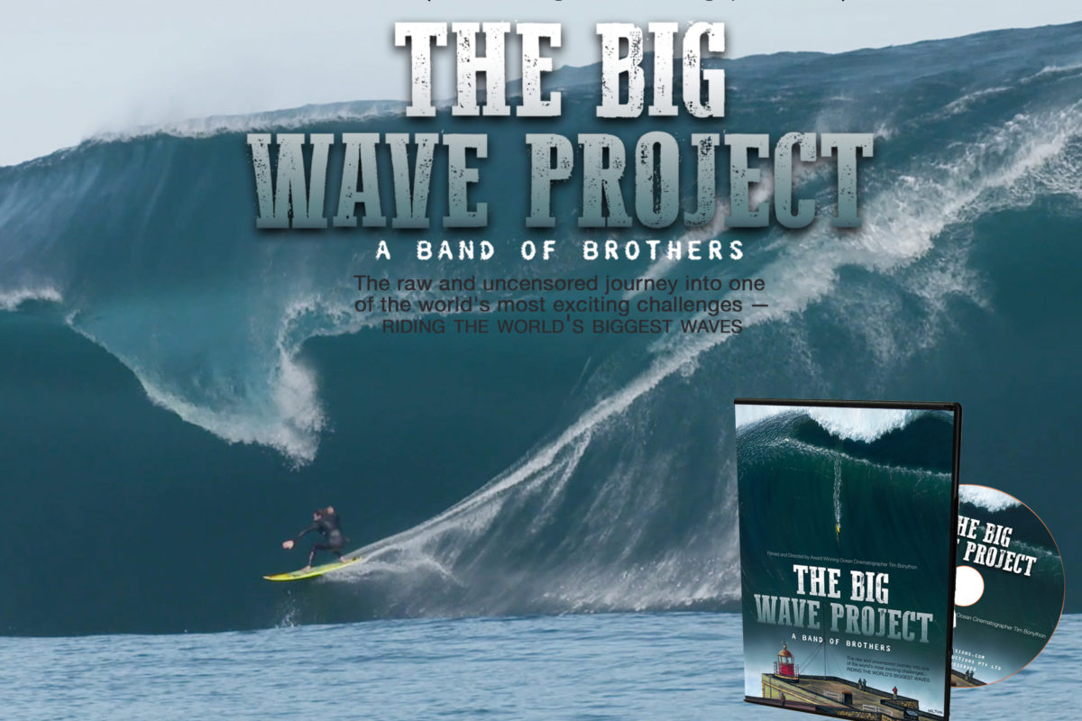 Riding the big wave